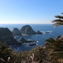 *【佐多岬展望台】車で約10分★晴れていれば種子島や屋久島など有名な島々も一望することができます