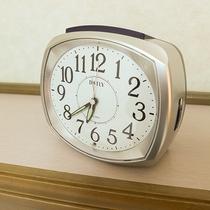 *【客室一例/目覚まし】客室に完備!これで朝の目覚めも安心です