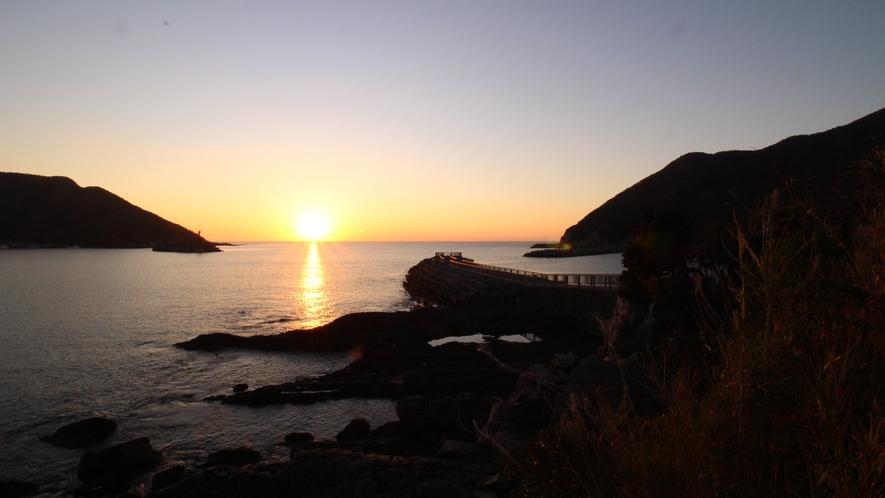 *【ホテル佐多岬様からの朝日】全客室から当館自慢の朝日を望む事が可能です
