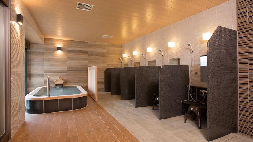 温泉浴室「芦ノ湖の湯」(4階)