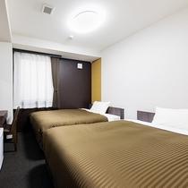 ツインルーム【100cm幅ベッド2台】