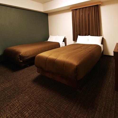 ハンディキャップツインルーム【120cm幅ベッド2台】