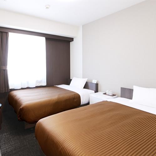 ツインルーム【120cm幅ベッド2台】