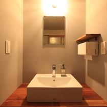カラふる与四右衛門:洗面室