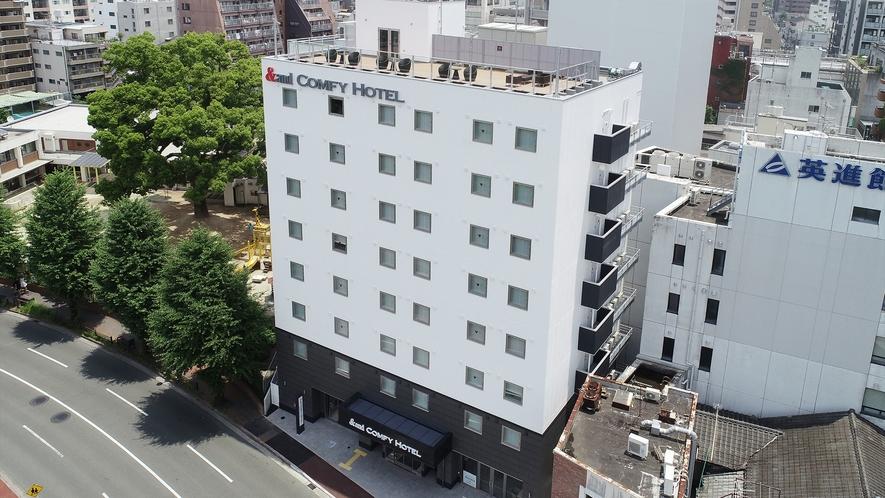 2019年7月1日オープン!!アンドコンフィホテル熊本城ビュー