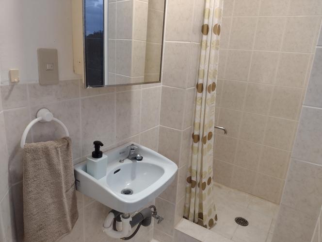 ベッドルーム1シャワールーム