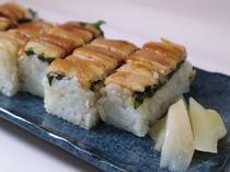 宮島名物穴子の押し寿司