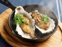 【牡蠣料理の1例】焼き牡蠣