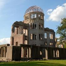 原爆ドーム(写真提供:広島県)