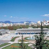 広島平和記念公園(写真提供:広島県)