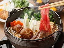 広島牛のすき焼