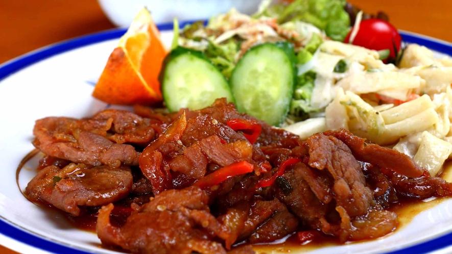 【レストラン】ボリュームも満点♪定食・丼もの・麺類などが充実しています。営業時間11時~17時