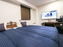 ◆ツインルームA◆全室スランバーランドベッドを完備しております。