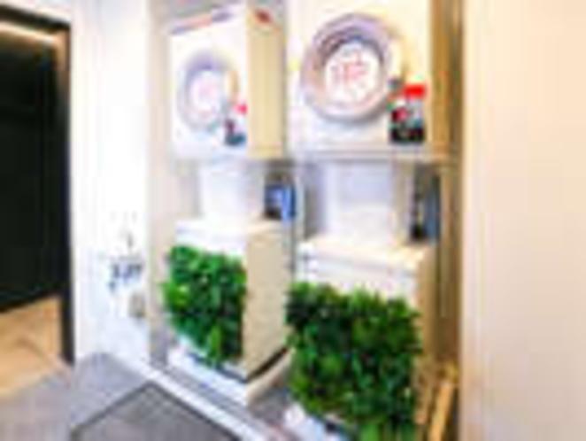 ◆ランドリーコーナー◆洗濯機1回¥300 乾燥機30分¥100
