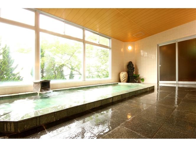大浴場:天然温泉アナンダの湯  源泉名:新美里温泉長寿の湯2号泉
