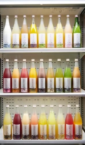 Sayaの風オリジナル果実酒 アルコールとソフトドリンク飲み放題などのすべてのサービスを一切追加料金