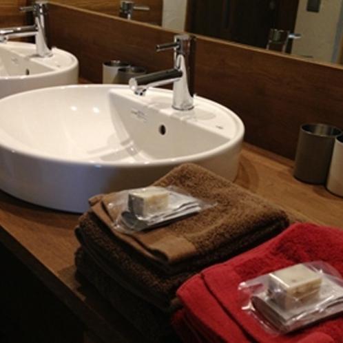 …洗面台…