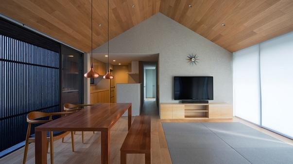 奄宿 AMAYADO 統建築に最新設備の高級リゾート・ビラ