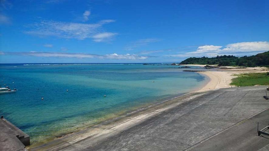 どこか懐かしい須野海岸