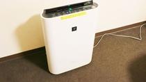 ・部屋備品:空気清浄機