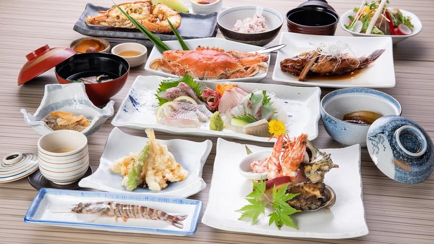 *【ご夕食】上天草の美味をご堪能いただけるコース料理をご用意いたします。