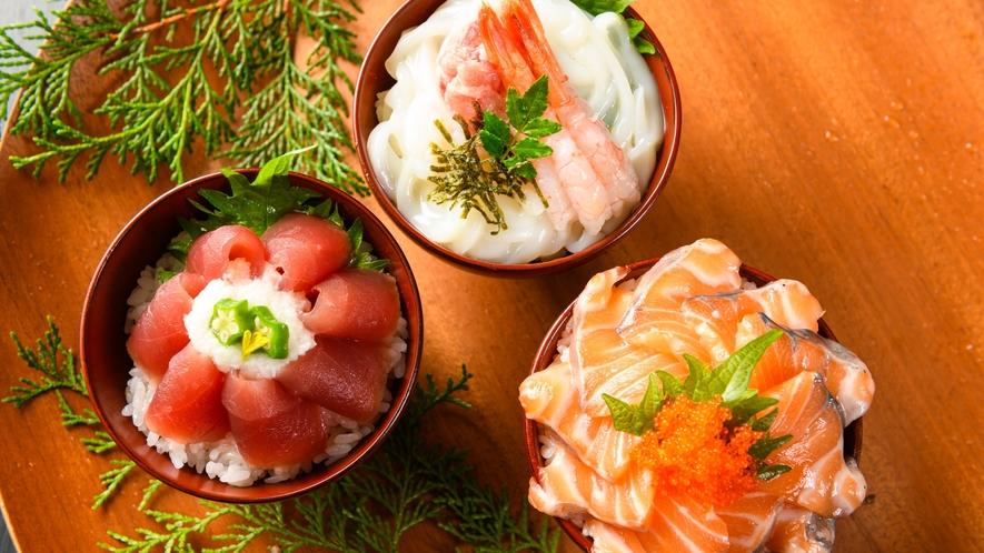 【朝食バイキング】奇数月限定!朝から海鮮丼♪
