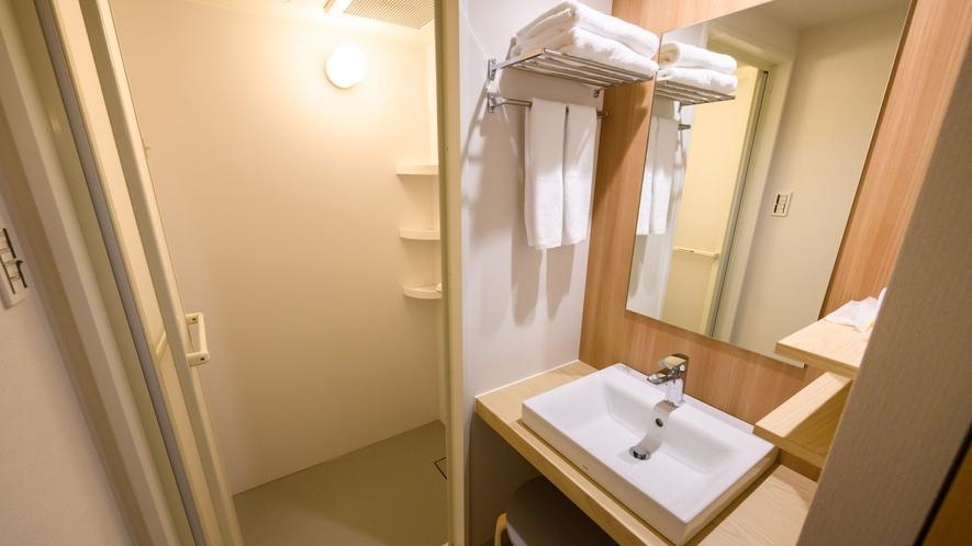 【ツインA 一例】洗面台/シャワーブース
