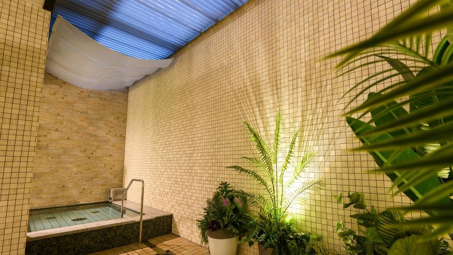 【女性大浴場 露天風呂】外湯もあります♪