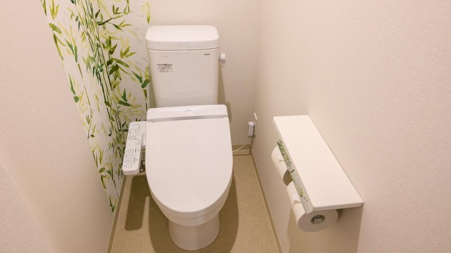 【ダブル 一例】完全独立タイプのトイレです♪