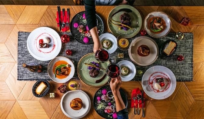 【4日間・事前決済限定】【夕食20時〜】クリスマススペシャルディナー付プラン(朝夕2食付)