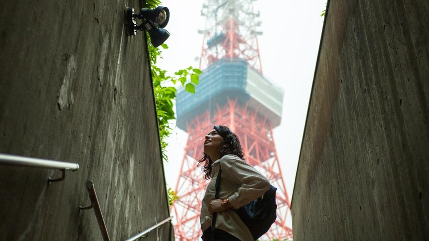 東京タワー(車6分/地下鉄18分/徒歩24分)