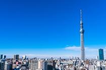 東京スカイツリーへはタクシーで15分程度