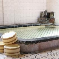 *大浴場/天然温泉100%源泉かけ流しの弱アルカリ『美人の湯』。お肌つるつるもちもちに!