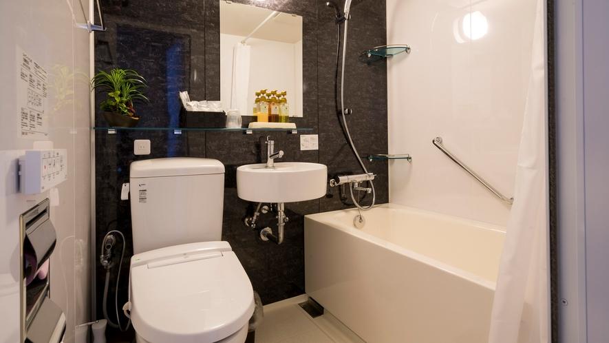 *ユニットバス(別館)/別館のお部屋にのみ完備。温泉ではありませんのでご了承ください。