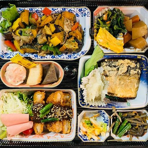 日替わり夕食メニュー※イメージ