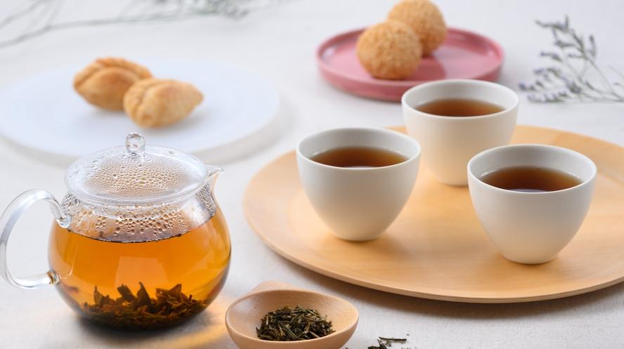 中国茶のご用意もございます。