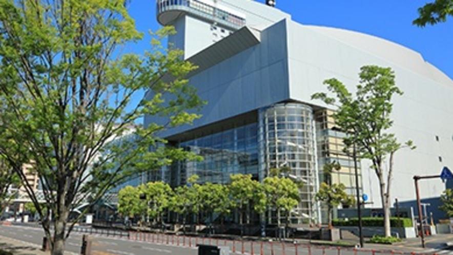 ホテルから徒歩3分「iichiko総合文化センター」