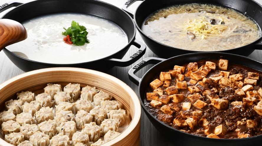 大人気の「朝から麻婆豆腐」「朝から酸辣湯麺」