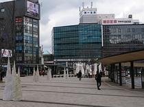 大分駅中央口(北口)