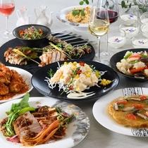 4名以上からご予約可♪ご夕食イメージ「パーティープラン」