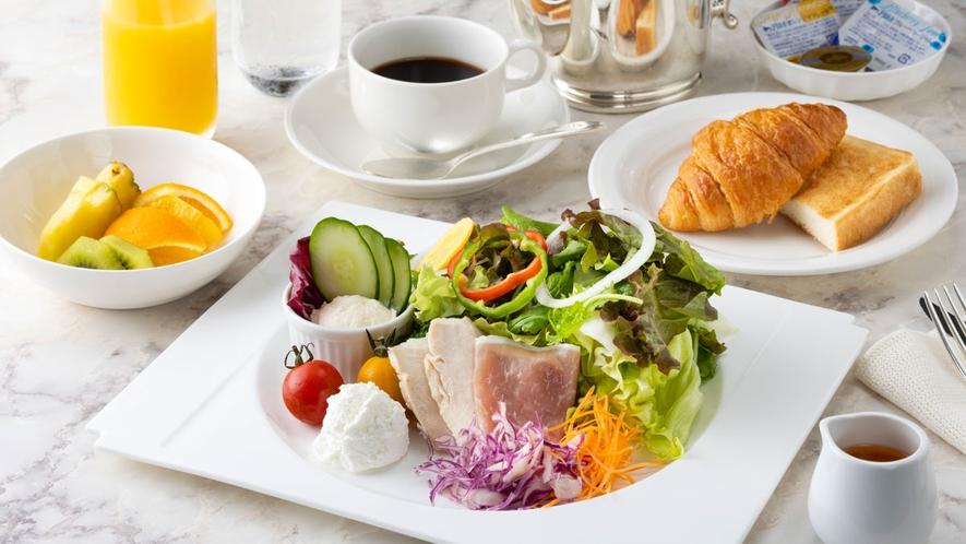 朝食:洋朝食~サラダ