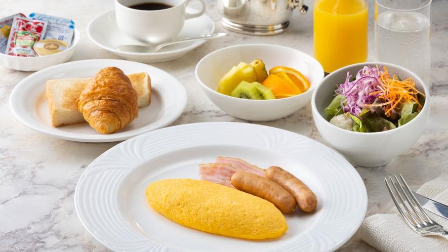 朝食:洋朝食~アメリカン