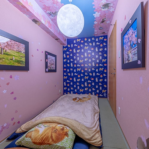 【サクラの部屋】おひとり様専用のこじんまりしたお部屋です
