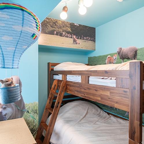 【まるの遊び部屋】童心をくすぐる二段ベッド