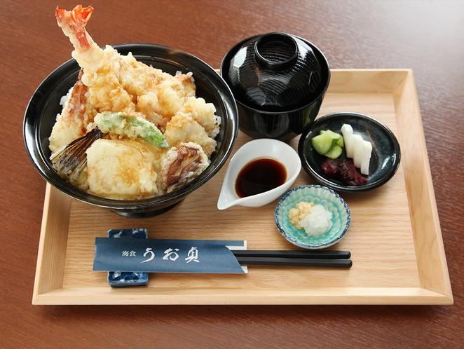 うお貞の天丼 1500円税別