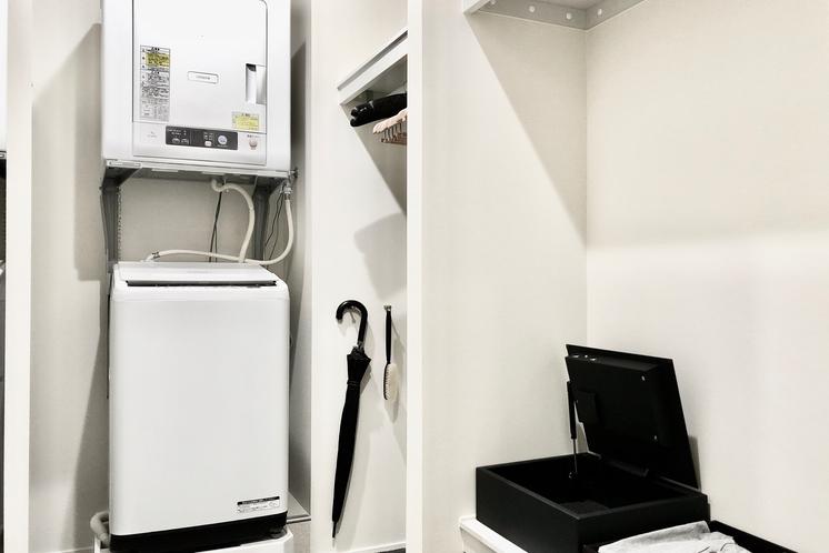 洗濯機・衣類乾燥機(スイートタイプのみ)