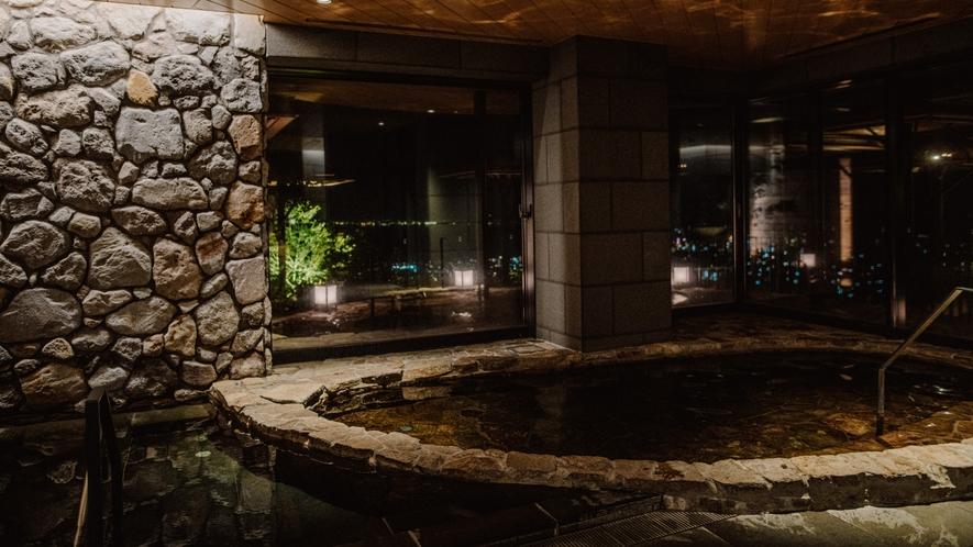 石造りの内風呂