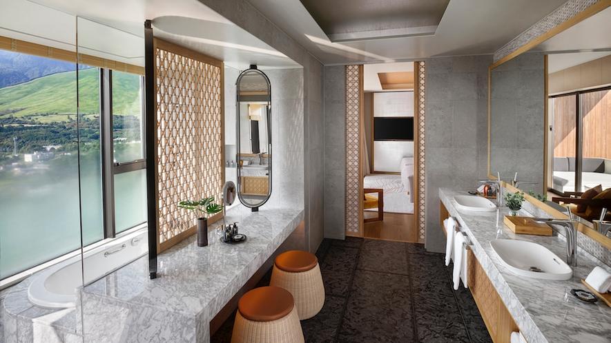 パノラマ2ベッドルームスイート バスルーム