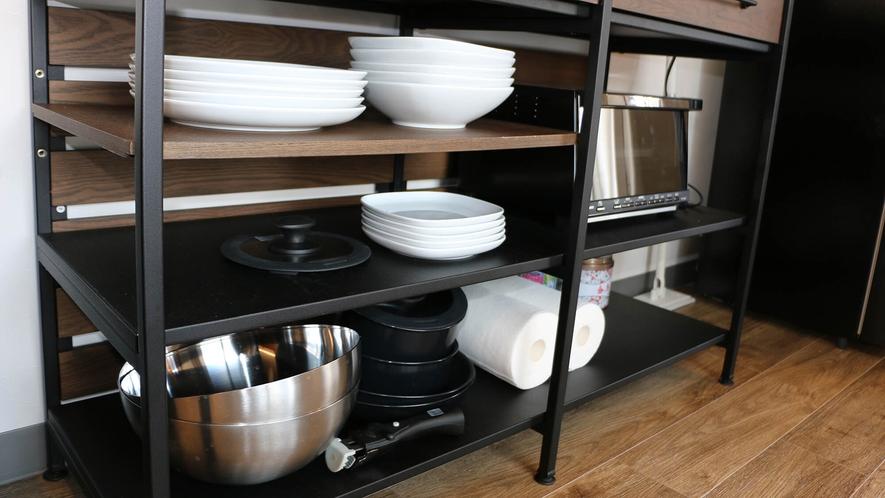 部屋にご用意のあるキッチン関連設備