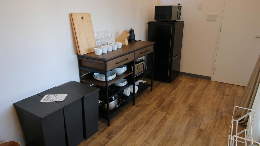 キッチン備品・冷蔵庫・電子レンジ